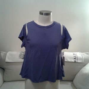 NWT We the Free Cross Back Top